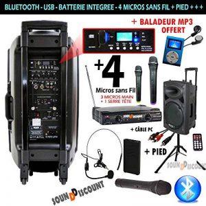 micro dj sans fil TOP 14 image 0 produit