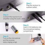 micro sans fil avec récepteur TOP 6 image 3 produit