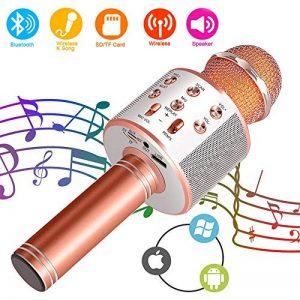 micro sans fil chant TOP 8 image 0 produit