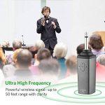 Micro sans fil Karaoké Microphone UHF 10 Canaux avec 1 Récepteur Bluetooth (batterie au lithium intégrée)+2 Connecteur de 6.35 et 3.55 Micro HF à Main Dynamiques Portables pour Haut-parleurs DJ Fête de la marque ARCHEER image 3 produit