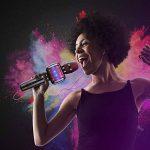 Microfono karaoke, Microphone de karaoké sans fil Bluetooth pour enfants Machine de poche karaoké portable avec haut-parleur pour adulte. KTV extérieur. de la marque OXOQO image 3 produit