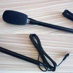 Microphone de poche omnidirectionnel ChenFec - Pour iPhone 6S, iPad Air Pro, smartphones Android Noir de la marque ChenFec image 3 produit