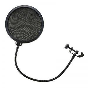 Microphone Filtre Anti-vent et Anti-pop pour Microphone Avec Support Pivotant 360 ° Rotation Flexible -MK003 de la marque Modesty image 0 produit