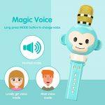 Microphone Karaoke,OXOQO Karaoke Enfants,3 en 1 Micro Karaoke sans Fil Bluetooth, Cadeaux de Noël pour Enfant Chanter Home KTV Player Musique Système Intégré USB pour Android IOS PC Smartphone de la marque OXOQO image 3 produit