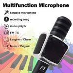 Microphone Karaoke, SYOSIN Microphone Karaoké Sans Fil Portable Bluetooth avec 2 Haut-Parleur Bluetooth Intégré pour PC/Smartphone Android & iOS de la marque SYOSIN image 3 produit