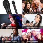 """Microphone sans Fil UHF,Mbuynow Microphone sans Fil Dynamique Micro à Main Portable avec Mini Récepteur 1/4""""Sortie pour Karaoké, Fête, Conférence, Mariage en Plein Air,Bar, Eglise etc. de la marque Mbuynow image 4 produit"""