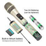 Moukey Microphone sans Fil UHF avec Mini Récepteur Portable de la marque Moukey image 2 produit