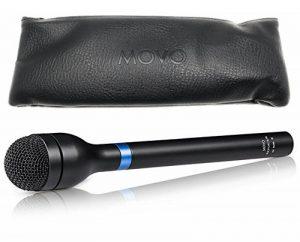 Movo Hm-m2dynamique omnidirectionnelle Handheld XLR Reporter/interview/présentation Micro de la marque Movo image 0 produit
