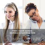 Mpow Micro Oreillette Bluetooth Professionnel [13H Appel] Casque Téléphone sans Fil Rechargeable, Tech Multi-Point Connexion Simultané pour iPhone Android Huawei Samsung/Xbox/Whatsapp/Skype de la marque Mpow image 1 produit