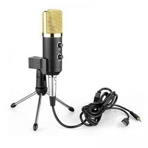 Myarmor Professiona Micro à condensateur cardioïde Pro Audio Studio d'enregistrement vocal Mic avec support antichocs BM-100FX de la marque MyArmor image 0 produit