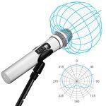 NASUM Microphone Professionnel Portable sans fil Rechargeable PC-K3 avec récepteur de 6,35 mm Conception multi-canaux pour Karaoké, Haut-parleurs PA, Amplificateur, DJ, Fête, Église, Mariage de la marque NASUM image 3 produit