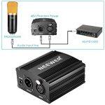 Neewer 1- Canal 48V Alimentation Fantôme Noir avec Adaptateur et Un XLR Câble Audio de la marque Neewer image 2 produit
