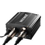 Neewer 1- Canal 48V Alimentation Fantôme Noir avec Adaptateur et Un XLR Câble Audio de la marque Neewer image 4 produit