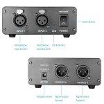 Neewer® 2 Canaux 48V Alimentation Fantôme avec Adaptateur Secteur pour Microphones à Condensateur, Transfert Signal Sonore à la Carte Son Externe de la marque Neewer image 4 produit