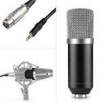Neewer- 40084724 - NW-700 Ensemble de Microphones à Condensateur pour Studio Diffusion Enregistrement : (1) Microphone à Condensateur NW-700 + (1) Bouchon Anti-Vent à Bille + (1) Câble Audio pour Microphone (Noir) de la marque Neewer image 2 produit