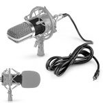 Neewer- 40084724 - NW-700 Ensemble de Microphones à Condensateur pour Studio Diffusion Enregistrement : (1) Microphone à Condensateur NW-700 + (1) Bouchon Anti-Vent à Bille + (1) Câble Audio pour Microphone (Noir) de la marque Neewer image 3 produit