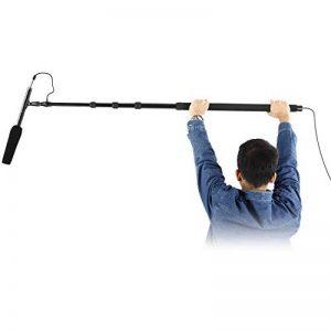 Neewer Boompole Perche de Microphone Portable, 5 Sections Etirables, Longueur de 83 à 333 centimètres, Construction en Aluminium avec Serrure Twist et Poignée Rembourée pour Microphones Zoom de la marque Neewer image 0 produit