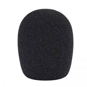Neewer Boule Type Mousse Microphone Portable Bonnette Anti-Vent Pop Filtre pour Microphone à Condensateur, 4,5cm x 4,5cm x 7cm, Noir de la marque Neewer image 0 produit