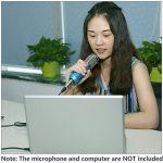 Neewer Câble de Microphone à 3 Broches 6 mètres/ 19,6 pieds, 3,5mm Mâle à XLR Femelle Cordon de Bruit Bas Professionnel (Noir) de la marque Neewer image 4 produit