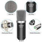 Neewer Kit de Microphone à Condensateur NW-700 Mic(Noir) NW-35 Suspension Bras Support avec Monture Pince,Support Antichoc,et Pop Filtre pour Radio Diffusion de la marque Neewer image 3 produit