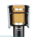 Neewer Micro Anti-pop Masque Antivent Filtre en Forme d'Arche avec Bandes de Caoutchouc Élastiques pour Micro Studio Enregistrement Acoustique Podcasting Radiodiffusion de la marque Neewer image 2 produit