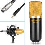 Neewer Microphone à Condensateur Kit Micro de Studio: NW-700 Microphone, NW-107 Trépied avec Bras Suspension, Support Anti-Choc, NW-3 Filtre Anti-Pop, Pare-brise en Mousse, et Câble Audio de la marque Neewer image 4 produit