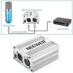 Neewer NW-700 Kit de Microphone à Condensateur – Micro (Bleu) et Alimentation Fantôme 48V (Argent), NW-35 Support de Bras avec Antichoc et Filtre Pop (Noir), Câble XLR Mâle à Femelle de la marque Neewer image 4 produit