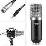 Neewer NW-700 Microphone Kit: (1) Microphone+(1) 48V Alimentation Fantôme+(1) Adaptateur Secteur+(1) XLR Câble Audio+(1) Anti-Choc+(1) Anti-Vent en Mousse+(1) Câble d'Alimentation de la marque Neewer image 4 produit
