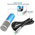 Neewer NW-800 Kit de Microphone à Condensateur pour Enregistrement et Radiodiffusion en Studio avec NW-35 Support de Bras Doté d'Embase Noire et Pince de Table, Anti-pop (Bleu) de la marque Neewer image 4 produit