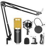 Neewer NW-800 Microphone à Condensateur et NW-35 Réglable d'Enregistrement Bras de Suspension avec Support Antichoc et Kit de Montage Pince de la marque Neewer image 1 produit