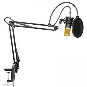 Neewer NW-800 Microphone à Condensateur et NW-35 Réglable d'Enregistrement Bras de Suspension avec Support Antichoc et Kit de Montage Pince de la marque Neewer image 0 produit