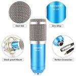 Neewer NW-800 Microphone à Condenseur (Bleu) et NW-35 Suspension Support Bras à Ciseaux avec XLR Câble et Clamp de Montage et NW-3 Filtre Pop et 48V Alimentation Fantôme de la marque Neewer image 3 produit