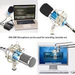 Neewer NW-800 Microphone à Condenseur (Bleu) et NW-35 Suspension Support Bras à Ciseaux avec XLR Câble et Clamp de Montage et NW-3 Filtre Pop et 48V Alimentation Fantôme de la marque Neewer image 4 produit