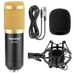 Neewer NW-800 Microphone Enregistrement Studio Radio Kit Inclus (1) Microphone à Condensateur Professionel Noir + (1) Support de Microphone Antichoc + (1) Bouchon Anti-Vent en Mousse + (1) Câble d'Alimentation de la marque Neewer image 1 produit