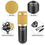 Neewer NW-800 Microphone Enregistrement Studio Radio Kit Inclus (1) Microphone à Condensateur Professionel Noir + (1) Support de Microphone Antichoc + (1) Bouchon Anti-Vent en Mousse + (1) Câble d'Alimentation de la marque Neewer image 3 produit