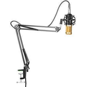 Neewer® NW-800 Professionnel Studio Radiodiffusion Enregistrement Microphone à Condensateur et NW-35 Réglable Microphone d'Enregistrement Bras de Suspension Ciseaux de la marque Neewer image 0 produit