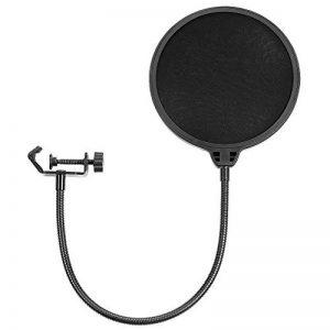 Neewer NW (B-3) 6 pouces Filtre Anti-pop de Microphone Studio en Forme Circulaire avec Support Clip (Noir) de la marque Neewer image 0 produit