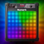 Numark Sing Master Enceinte Bluetooth 50W avec 60 Effets Vocaux Jeu de Lumière et 2 Micros Inclus de la marque Numark image 1 produit