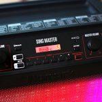 Numark Sing Master Enceinte Bluetooth 50W avec 60 Effets Vocaux Jeu de Lumière et 2 Micros Inclus de la marque Numark image 4 produit