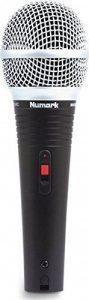 Numark WM200 Microphone Dynamique avec Clip de Fixation et Etui de Transport Solide avec Doublure en Mousse de la marque Numark image 0 produit