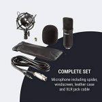 oneConcept Mic-700 Micro de Studio unidirectionnel Ø34 mm araignée bonnette Noir de la marque OneConcept image 4 produit