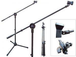 Pied de micro perche avec support de serrage Support pour Microphone Trépied Modèle: MS7 de la marque DRALL INSTRUMENTS image 0 produit