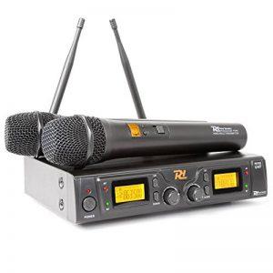 Power Dynamics PD781 Système sans fil avec Microphone 2 x 8 canaux UHF de la marque Power Dynamics image 0 produit
