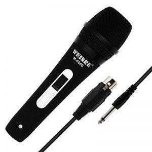Professional Microphone vocal dynamique–cardioïde unidirectionnel Micro main–3,5m/3.5m XLR Connexion de la marque QiCheng&LYS image 0 produit
