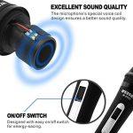 Professional Microphone vocal dynamique–cardioïde unidirectionnel Micro main–3,5m/3.5m XLR Connexion de la marque QiCheng&LYS image 3 produit