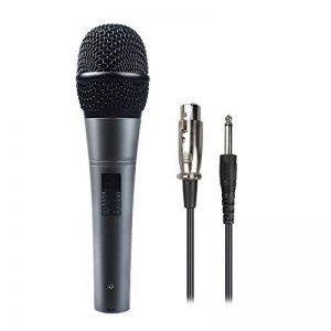 professionnel dynamique cardioïde vocal Micro filaire avec câble XLR (19'Xlr-to-1/4), DE câble en métal Maono-k04Cord Mic Plug and Play pour la Phase, Performance, karaoké, Public Speaking, Home KTV de la marque MAONO image 0 produit