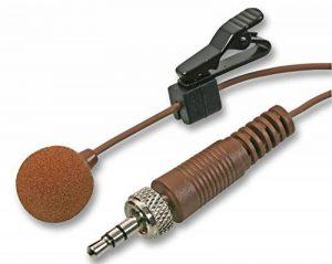 Pulse Mic-500lj miniature Lavalier Micro cravate–Jack 3,5mm marron de la marque Pulse Oximeter image 0 produit