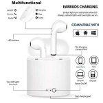 Qeezo Casque Bluetooth, écouteurs sans Fil avec Box, Haut Niveau de Charge Faible Bruit, Petit et Compact, du Micro HD pour iPhone et Samsung pour Android … (Bluetooth 4.2) de la marque Qeezo image 2 produit