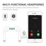 Qeezo Casque Bluetooth, écouteurs sans Fil avec Box, Haut Niveau de Charge Faible Bruit, Petit et Compact, du Micro HD pour iPhone et Samsung pour Android … (Bluetooth 4.2) de la marque Qeezo image 4 produit