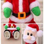 Rokoo Électrique Twerk Santa Claus Jouet De Noël Musique Chant Danse Twisted Wiggle Hip Poupée De Noël Décoration de La Maison Enfants Cadeaux de la marque ROKOO image 3 produit